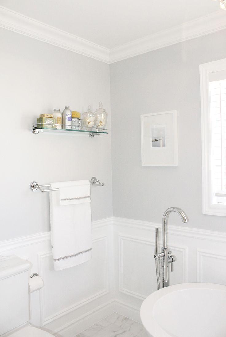 carra basket weave tile & wainscoting bathroom |  process at