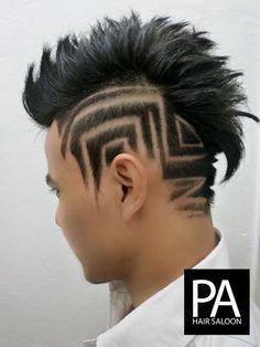Hair Tattoo 42 By Pro Art Hair Saloon Via Flickr Hair Tattoo Man Hair Tattoos Blinde Hair