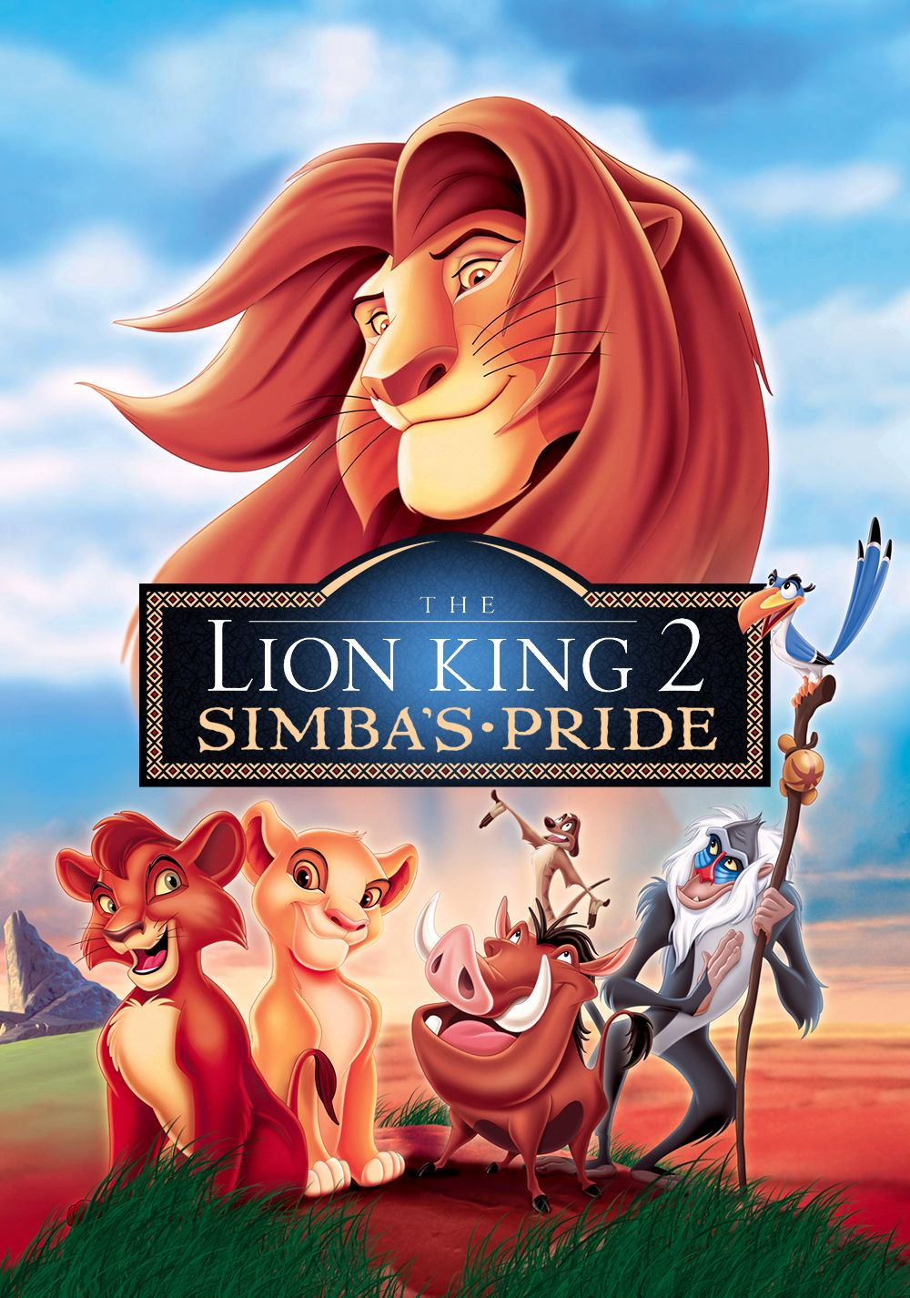 opening to the lion king 2 simbas pride 1998 vhs version 2