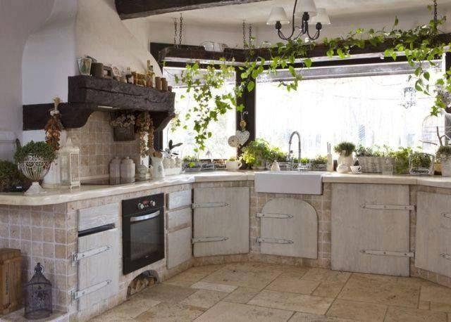 Vintage style küche  Küche in Vintage-style. | küchenideen | Pinterest | Wohnen nach ...