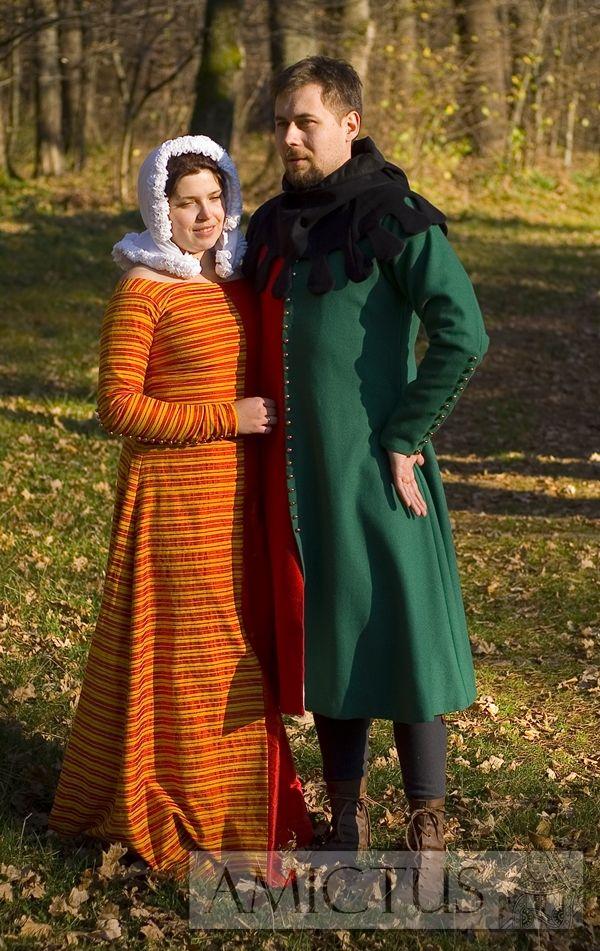 Jopula Ubior Meski I Suknia Mi Parti Stroje Wykonane W Oparciu O Przedstawienia Ikonograficzne Z Drugiej Polowy Xiv I Pierw Fashion Victorian Dress Wearable