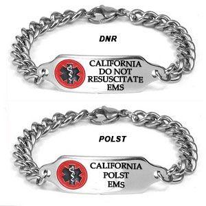 California Dnr Polst Medallion Bracelet 7 9 In