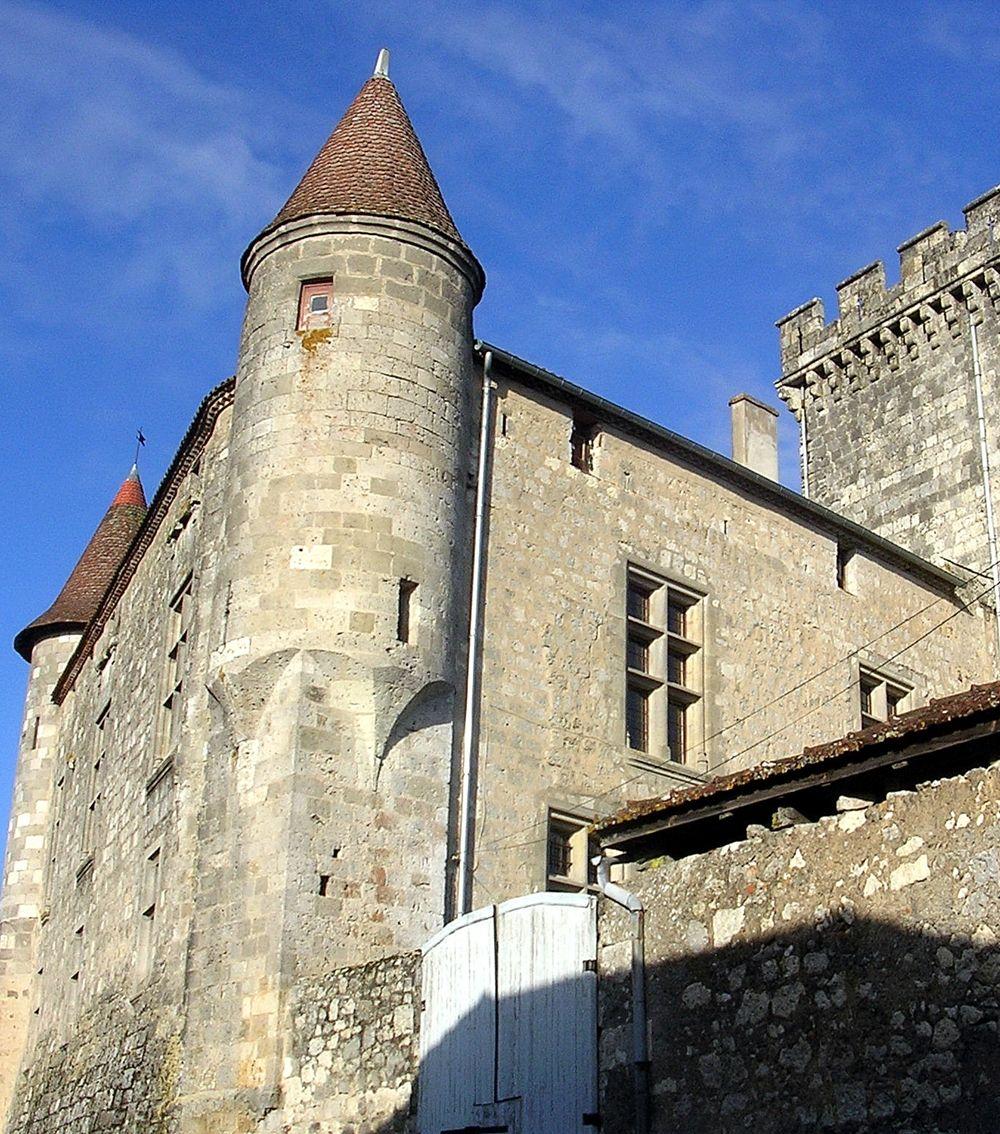 Château De Xaintrailles, Xaintrailles, Aquitaine (With