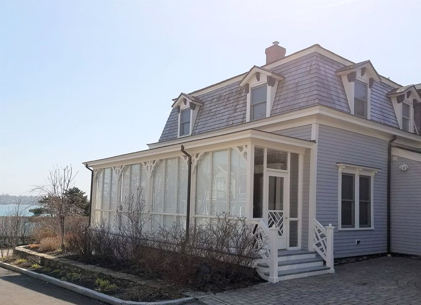 Newport, Rhode Island | Ocean View Waterfront Home | Historic Home ...