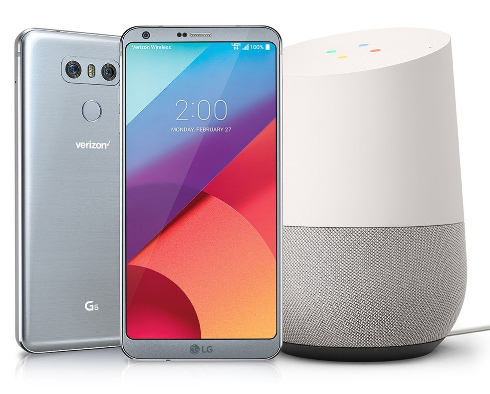 Buy the LG G6 now and get a Google Home on LG Google