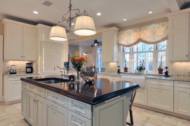 30 Impressive Kitchen Window Treatment Ideas  Kitchen Window Prepossessing Window Treatment Ideas For Kitchen Design Ideas