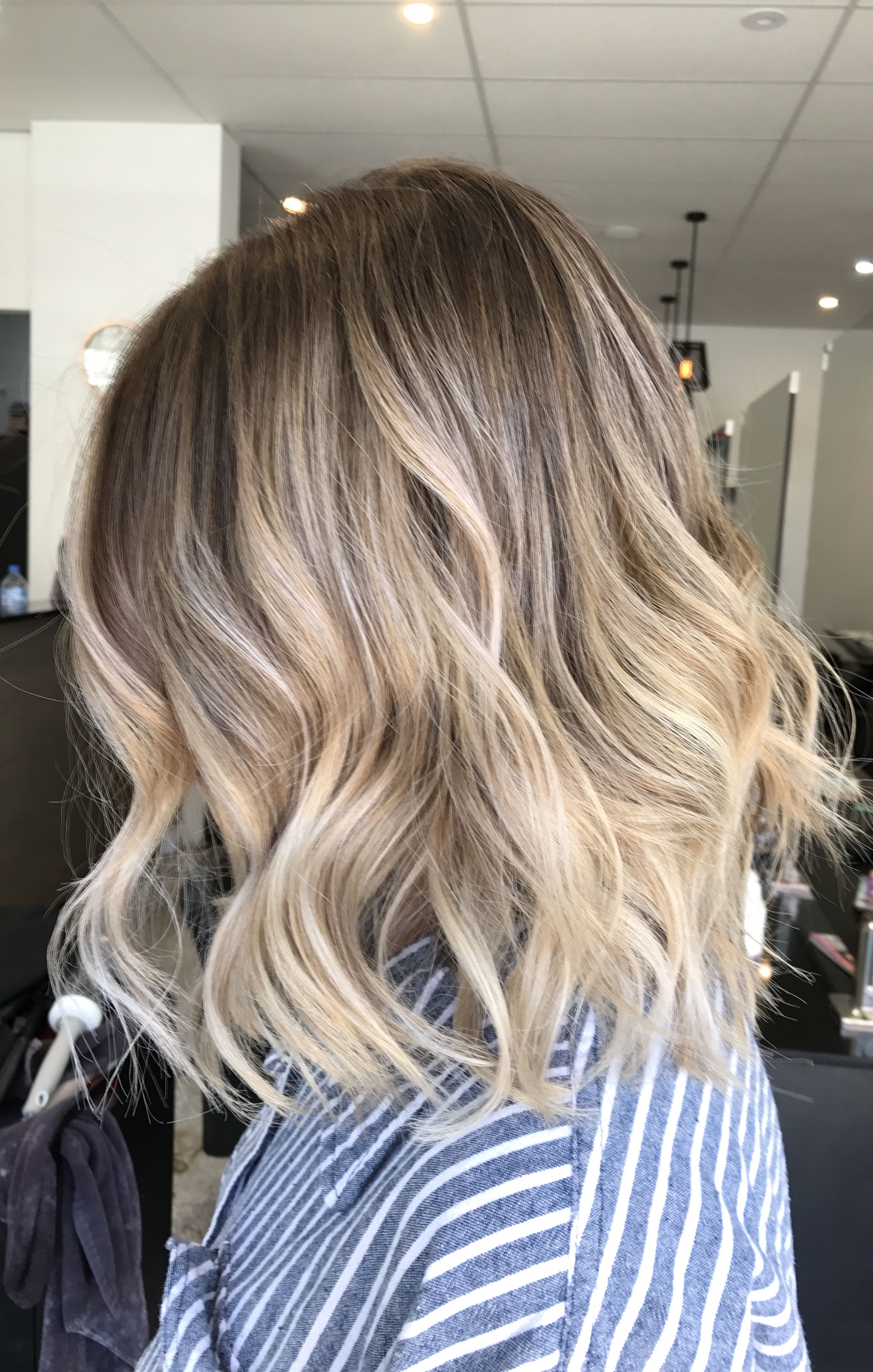 Lived In Hair Colour Blonde Bronde Brunette Golden Tones Balayage