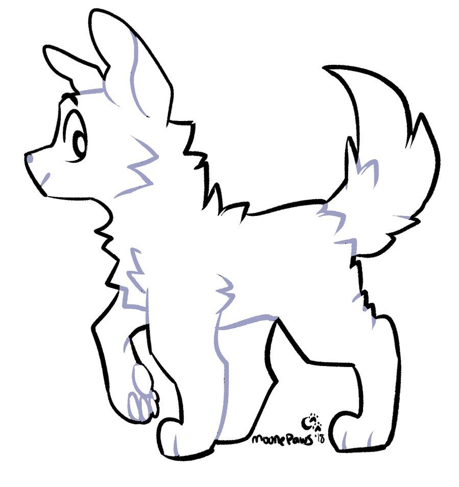 403 Forbidden Animation Sketches Cute Drawings Wolf Art
