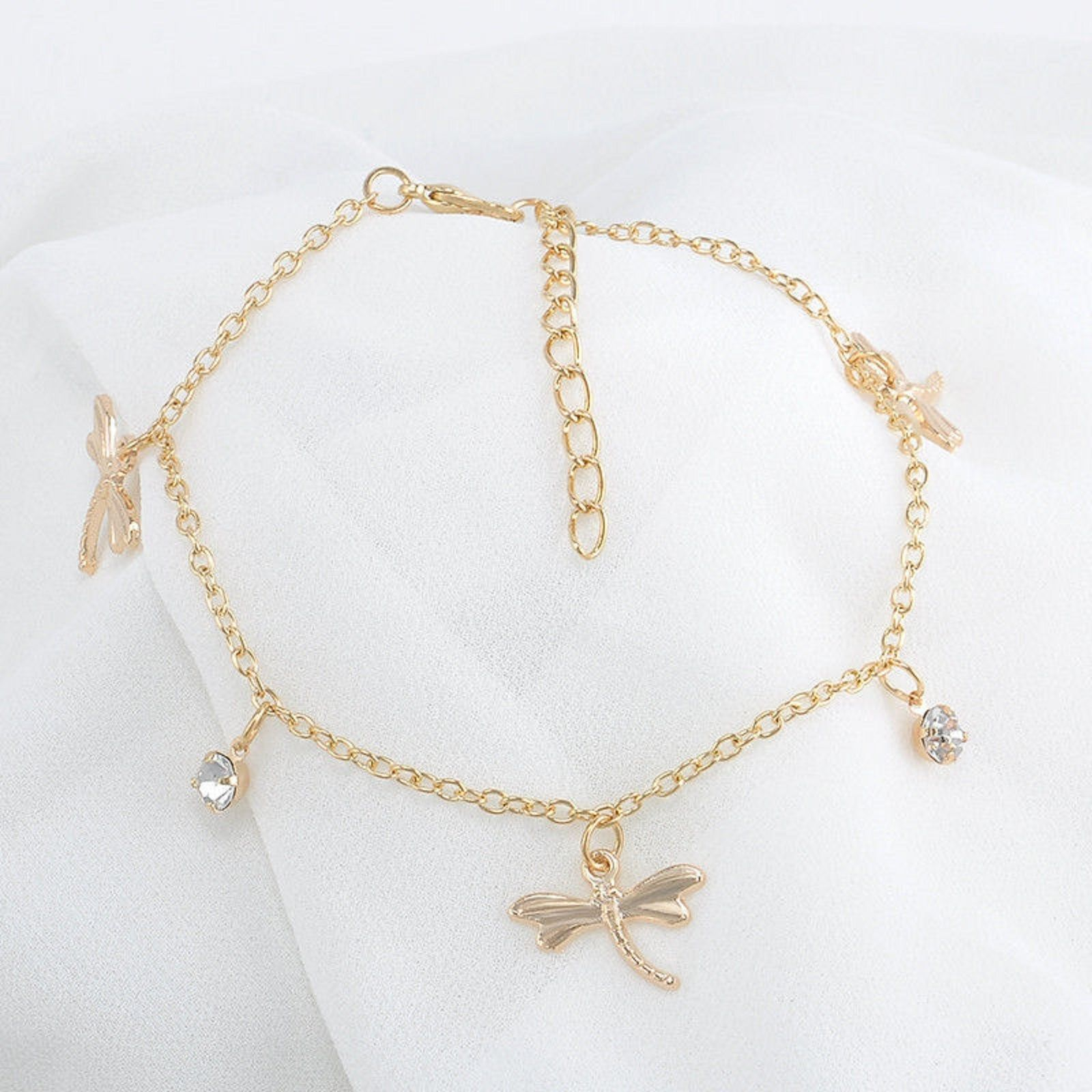 of bracelets sweet w tattoos dragonfly inspiration stainless only rolo charm daisy gold and s chain filled wholesale in innovation g pearls natural meaning ankle boho bracelet sterling heart love pearl this silver pinterest freshwater is enamel design womens anklet available inspiring idea made steel