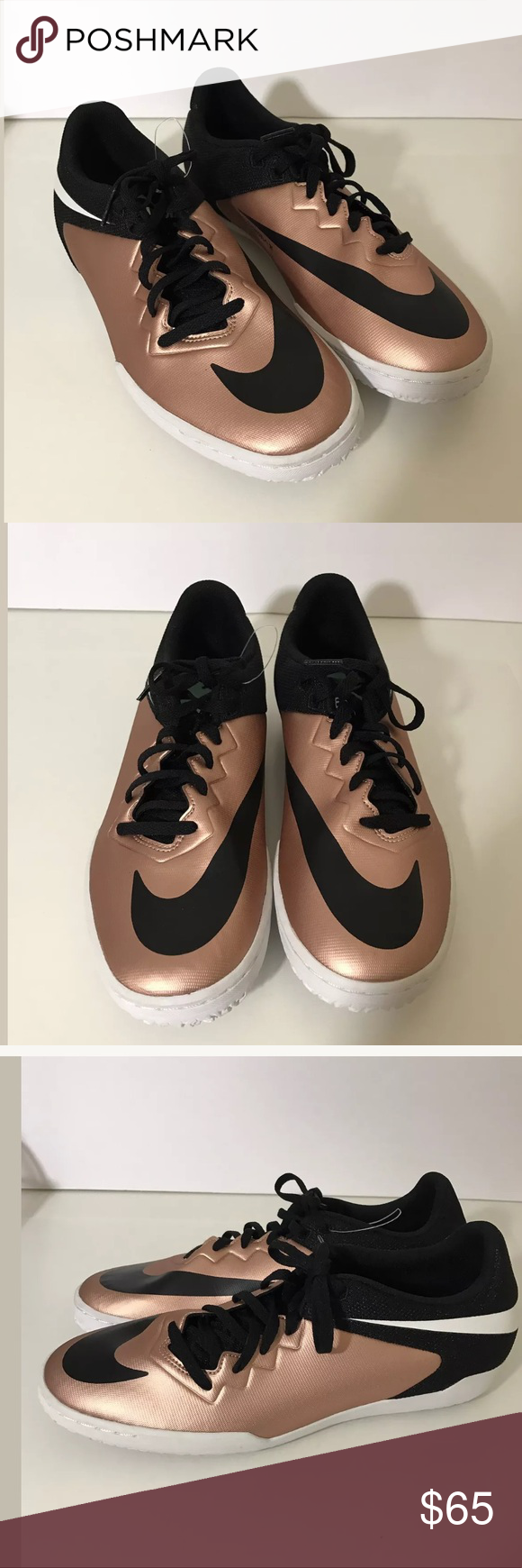 ee34aedea8e Nike hypervenom x indoor soccer non marking copper Brand new Nike  hypervenom X sneakers! Size 9 men s UK 8 EURO 42.5 Nike Shoes Athletic Shoes