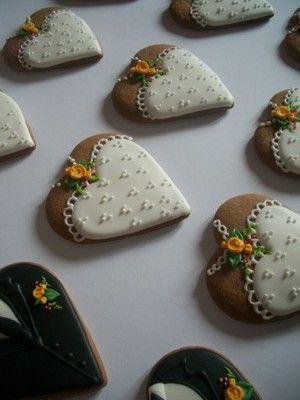 Podziekowanie Dla Gosci Slub Wesele Pierniki 6808357671 Oficjalne Archiwum Allegro Desserts Sugar Cookie Food