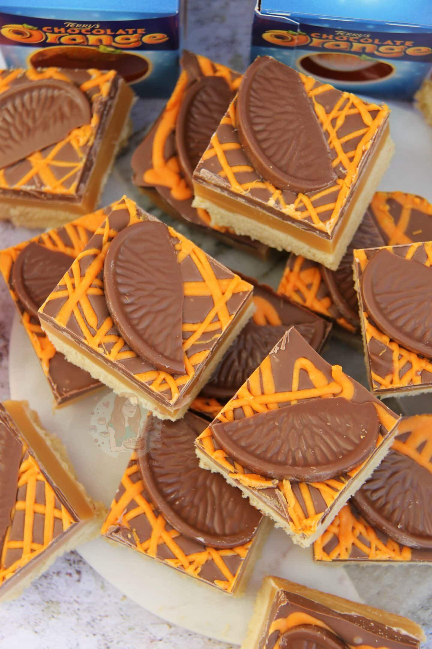 Terrys Chocolate Orange Millionaires Shortbread Janes