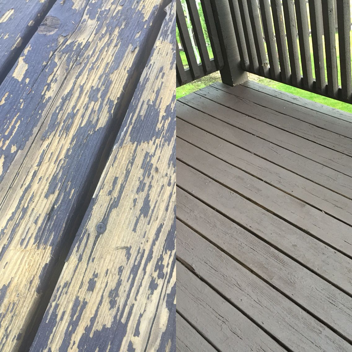 After One Coat Of Cabot Deck Correct In Cordoba Deck Colors