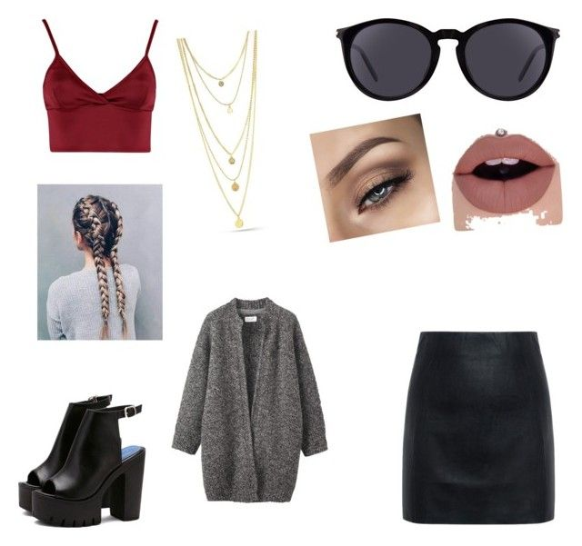 """""""Untitled #53"""" by style-is-the-truth ❤ liked on Polyvore featuring McQ by Alexander McQueen, Lipsy, Yves Saint Laurent and Toast"""