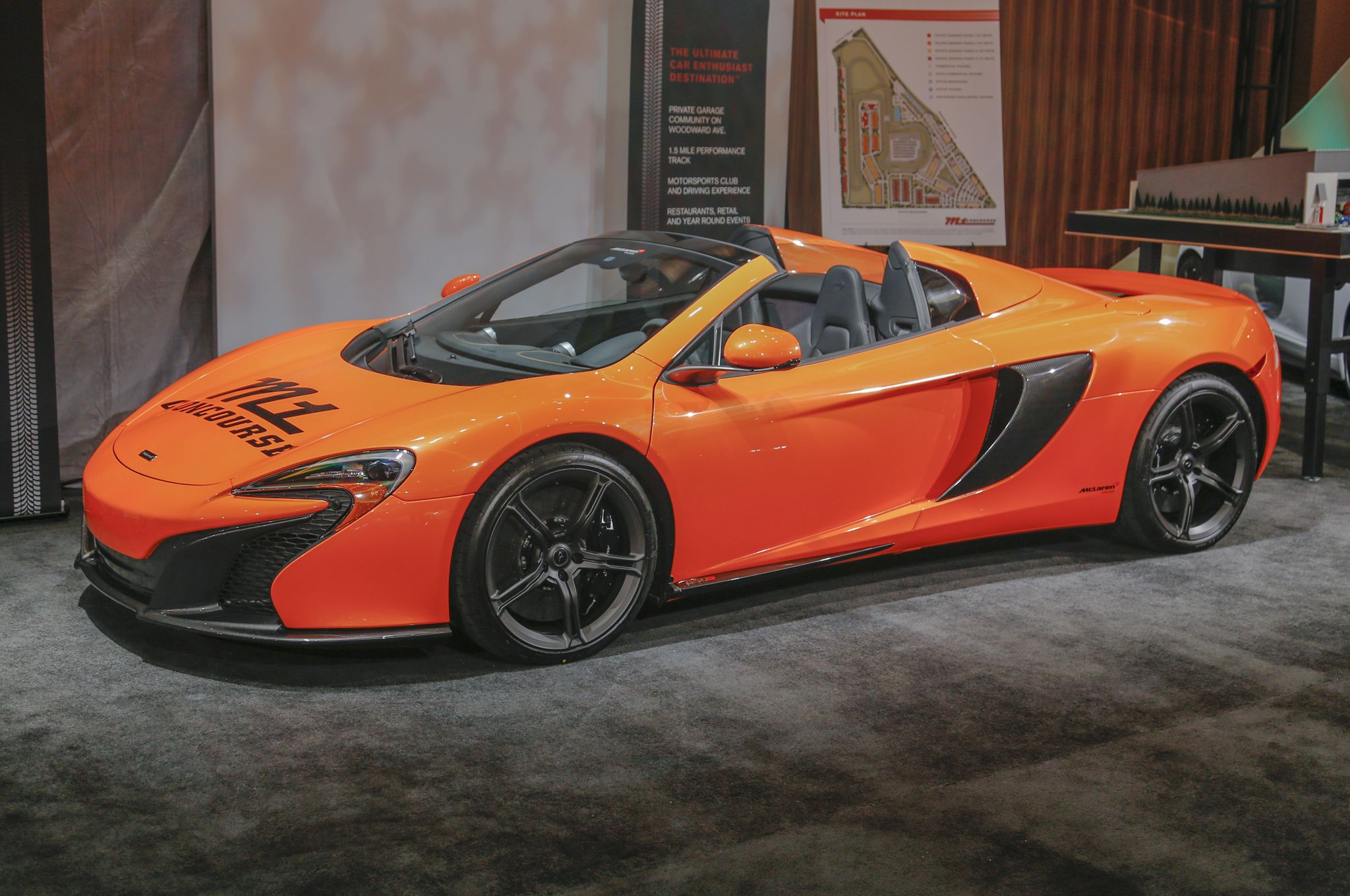 Motor City Exotics: The Gallery at the 2015 Detroit Auto Show McLaren 650S Spider