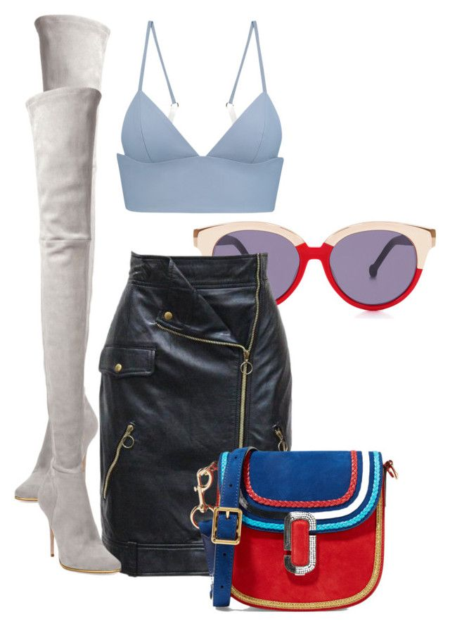 """""""Untitled #517"""" by jazz-mae on Polyvore featuring Preen, T By Alexander Wang, Moschino, Balmain and Marc Jacobs"""