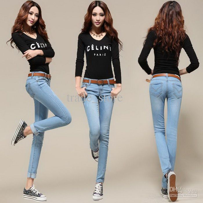 Skinny Jeans for Women #ProvenAsTheBest ♔*♥* Hot In #Jeans ...
