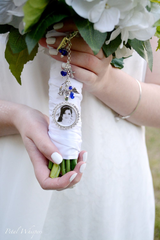 Blue Bouquet Charm Wedding Memorial