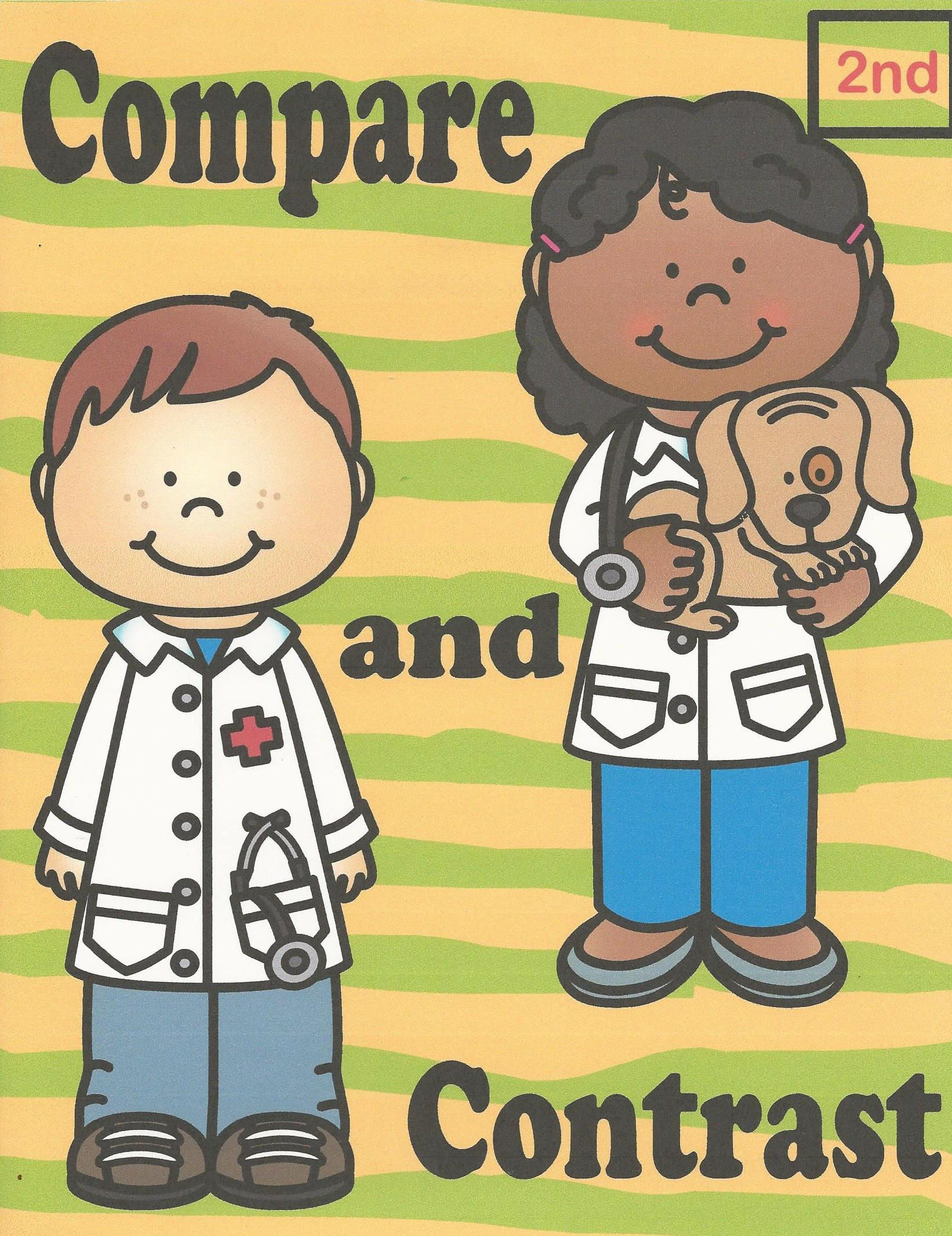 Reading Comprehension 2nd Grade Compare And Contrast