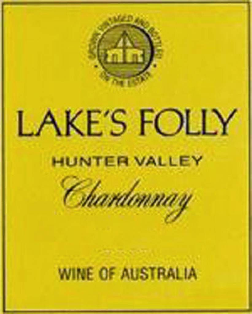 2001  Lake'sFolly Chardonnay $62,04 incl TAX