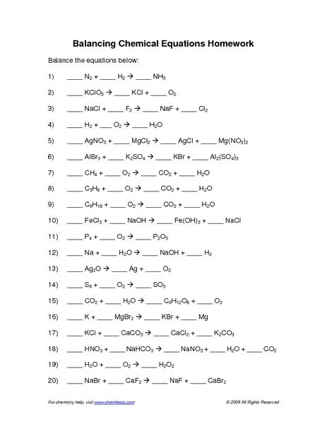 Pin by Nicki Brainard on Chemistry | Chemical equation ...