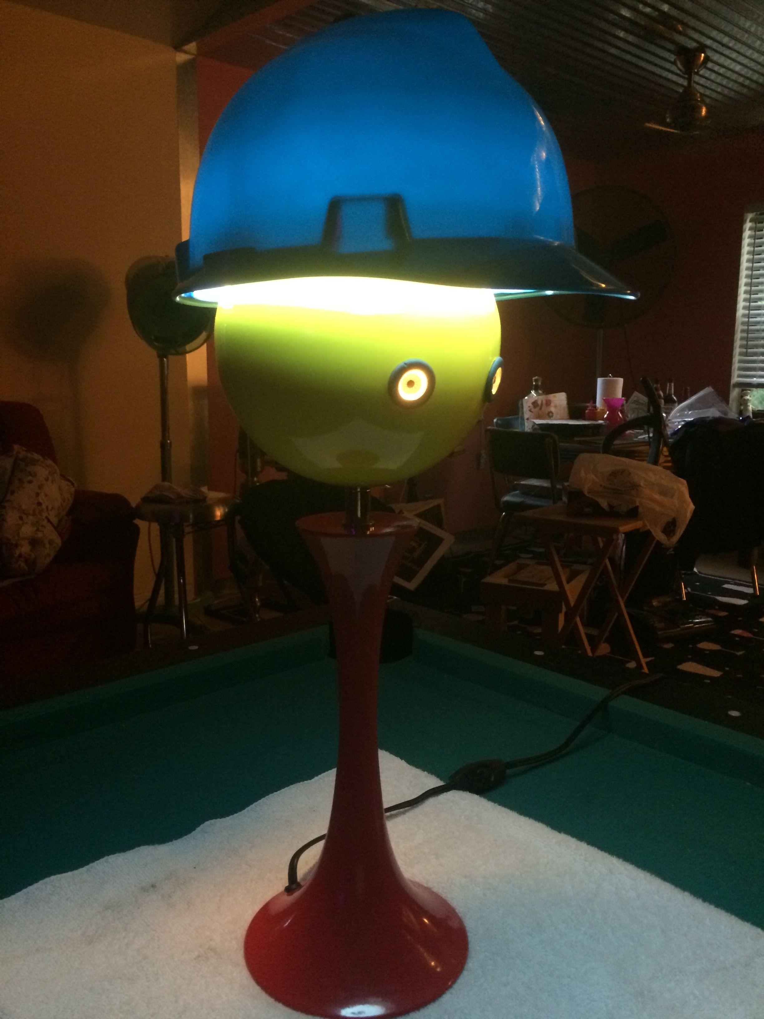 For light work hardhat area lamp novelty lamp light