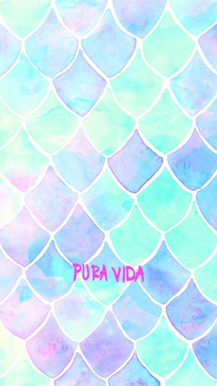 Mermaid iphone wallpaper tumblr - Pura Vida Summer Wallpaperhd Wallpaperiphone