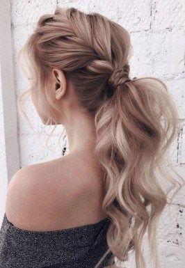 25 Trending Women Summer Braid Hairstyles 2019 #ponytailhairstyles