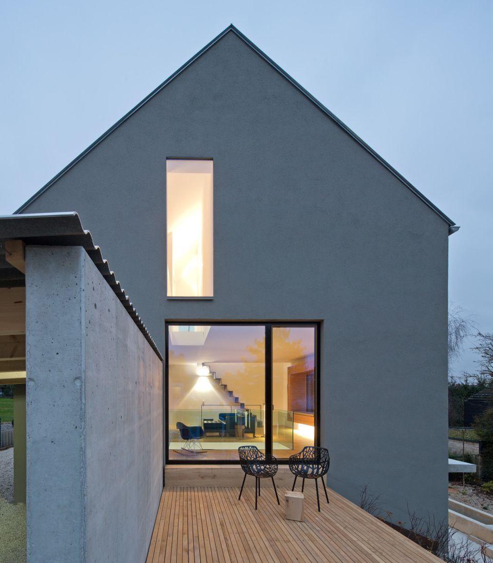 Westfassade Haus1 Double Sufficient In 2020 Fassade Haus Haus Grundriss Architektur