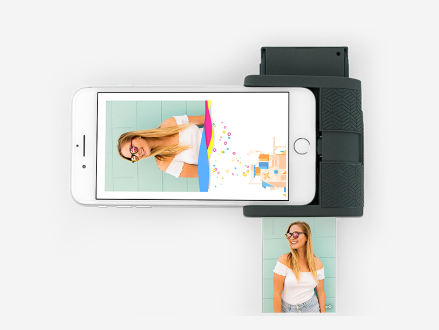 Prynt Pocket - Photo printer that uses AR to create moving pictures #PhotoPrinter