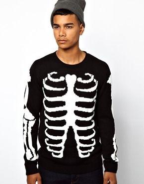 39faf2fdd0 ASOS Skeleton Sweater