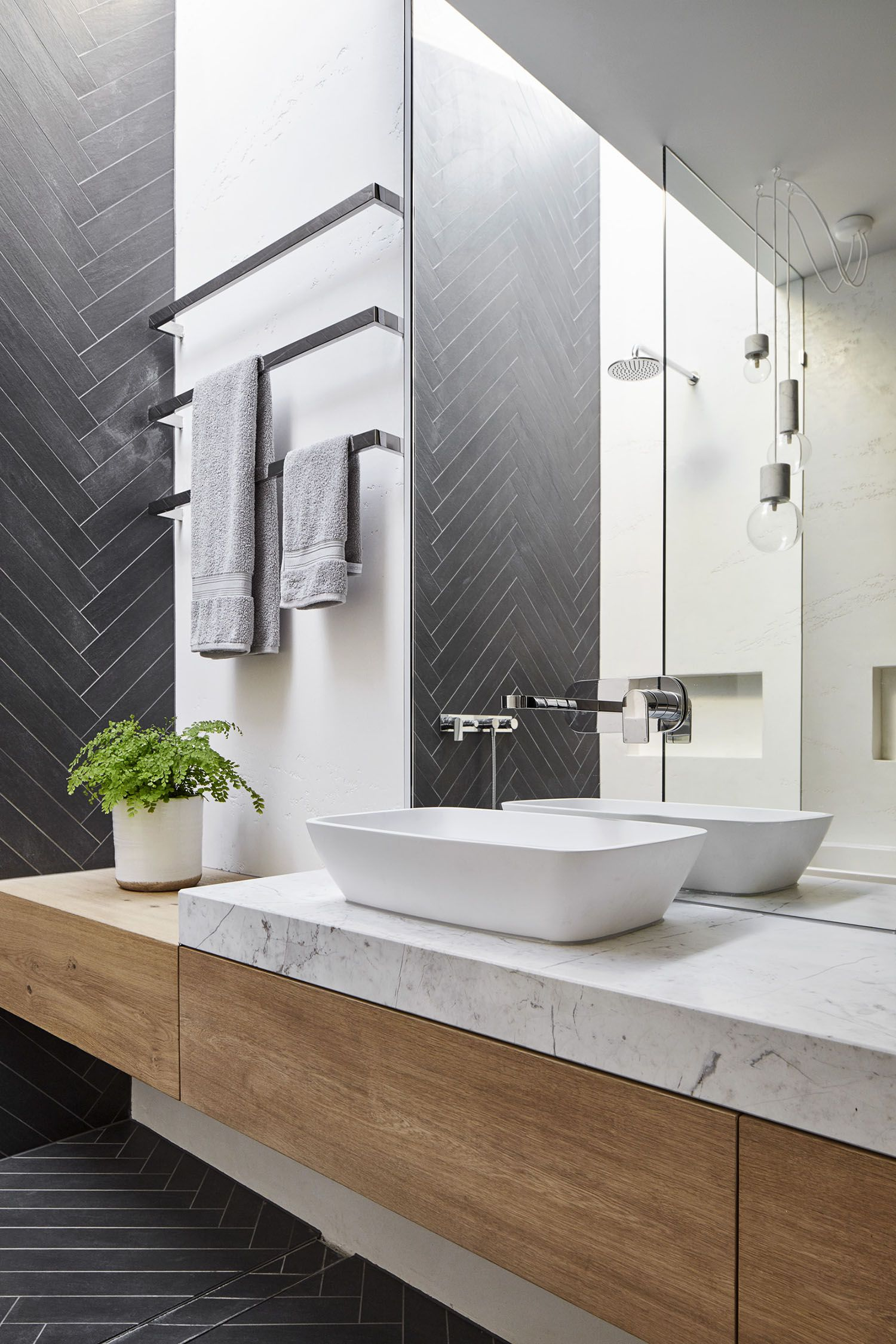 Bathroom designs Gallery of Fitzroy North House