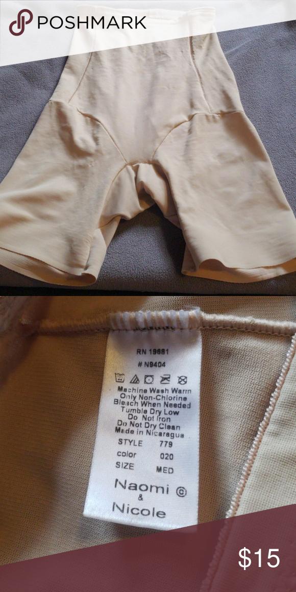 6a0db5ff2 Shapes Butt and waist and tucks everything away Waist and butt shaper Naomi    Nicole Intimates   Sleepwear Shapewear