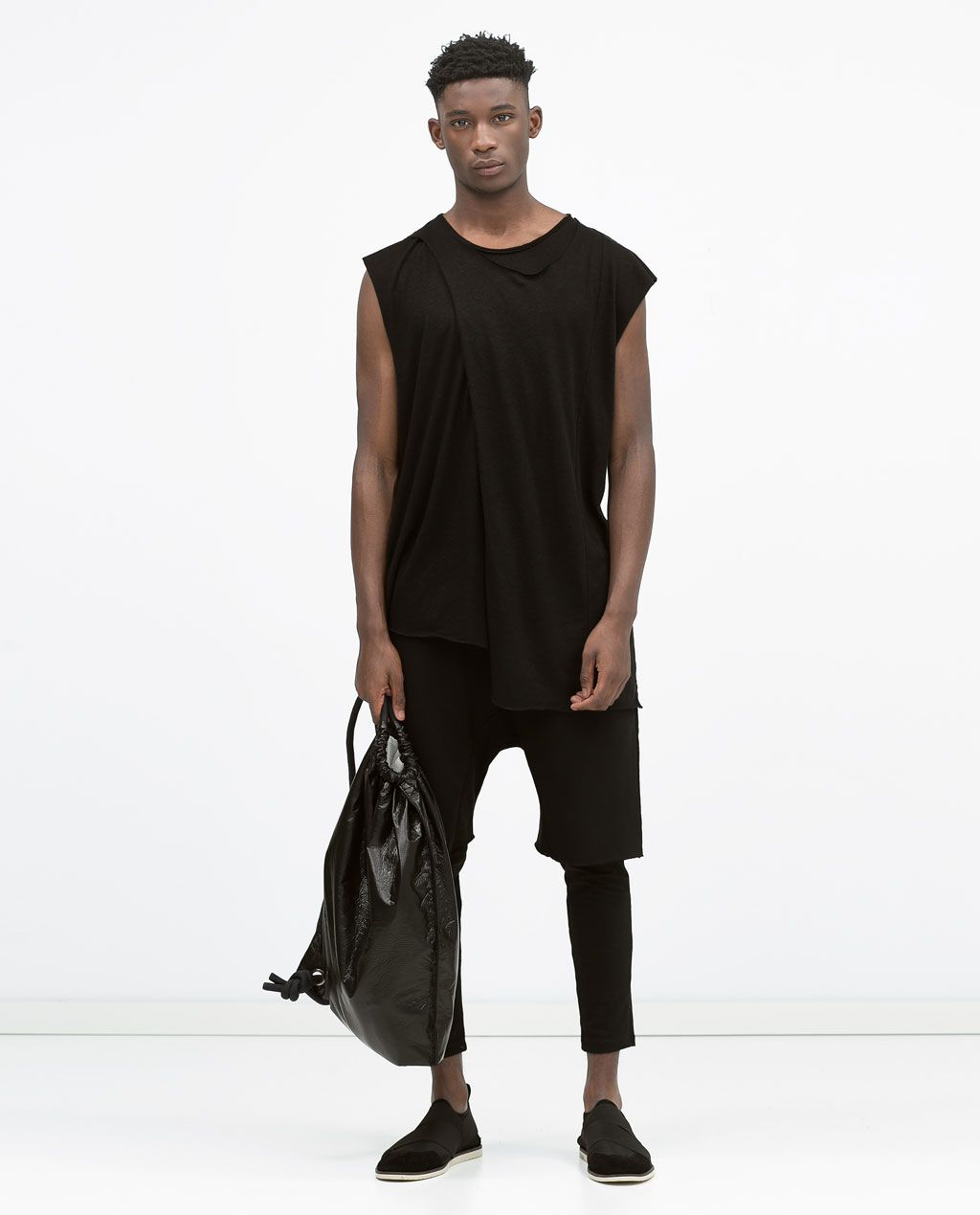 outlet store e05d4 a2d00 Image 1 of SLEEVELESS T-SHIRT from Zara   Edwardian Duo ...