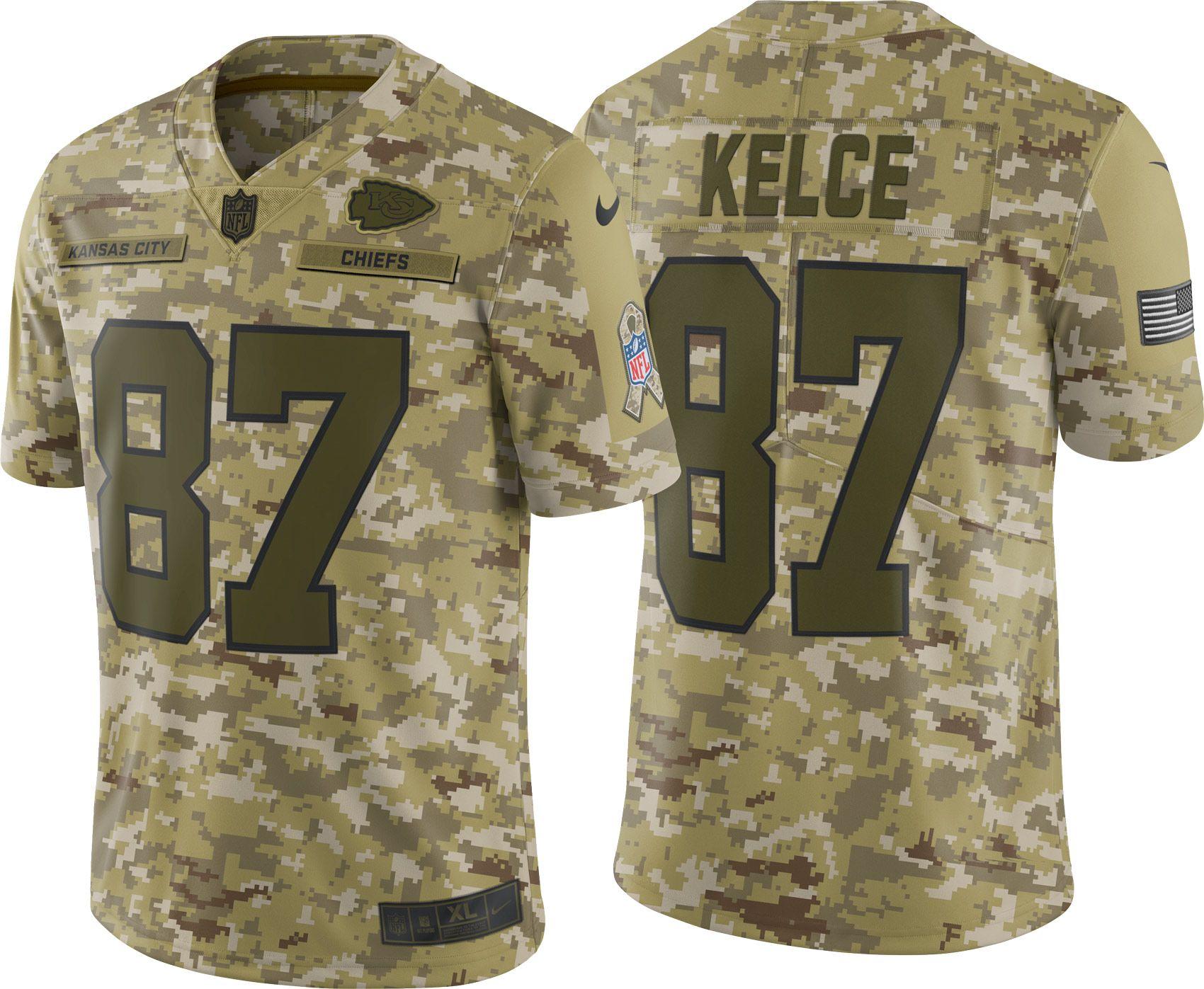 cheap for discount 7556b 607b9 Nike Men's Salute to Service Kansas City Chiefs Travis Kelce ...