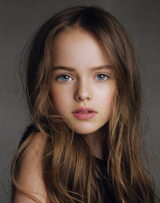 9 Stunning Modern French Manicure Ideas: Kristina Pimenova 9 Years Old