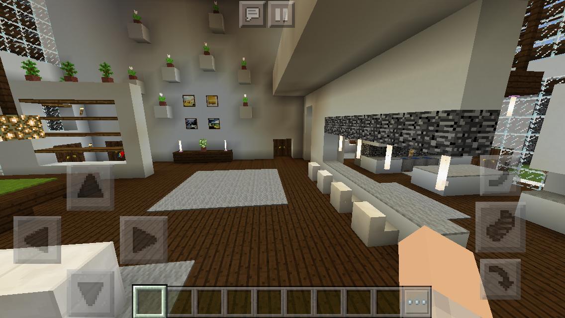Techelectronicmn Modern Minecraft House Interior Design Ideas