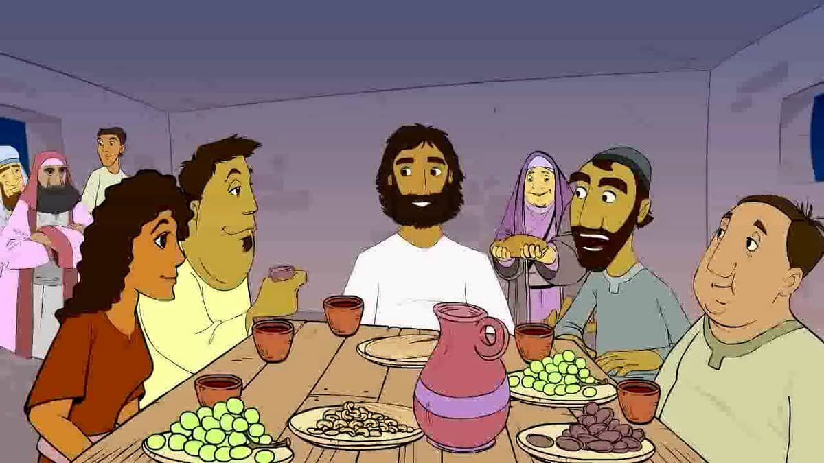 Wild Bible - Mark 2:13-17 (CEV) Jesus eats with Tax collectors and Sinners on Vimeo
