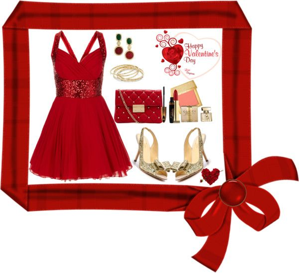 """""""Valentine's Day #2"""" by mava88 ❤ liked on Polyvore"""