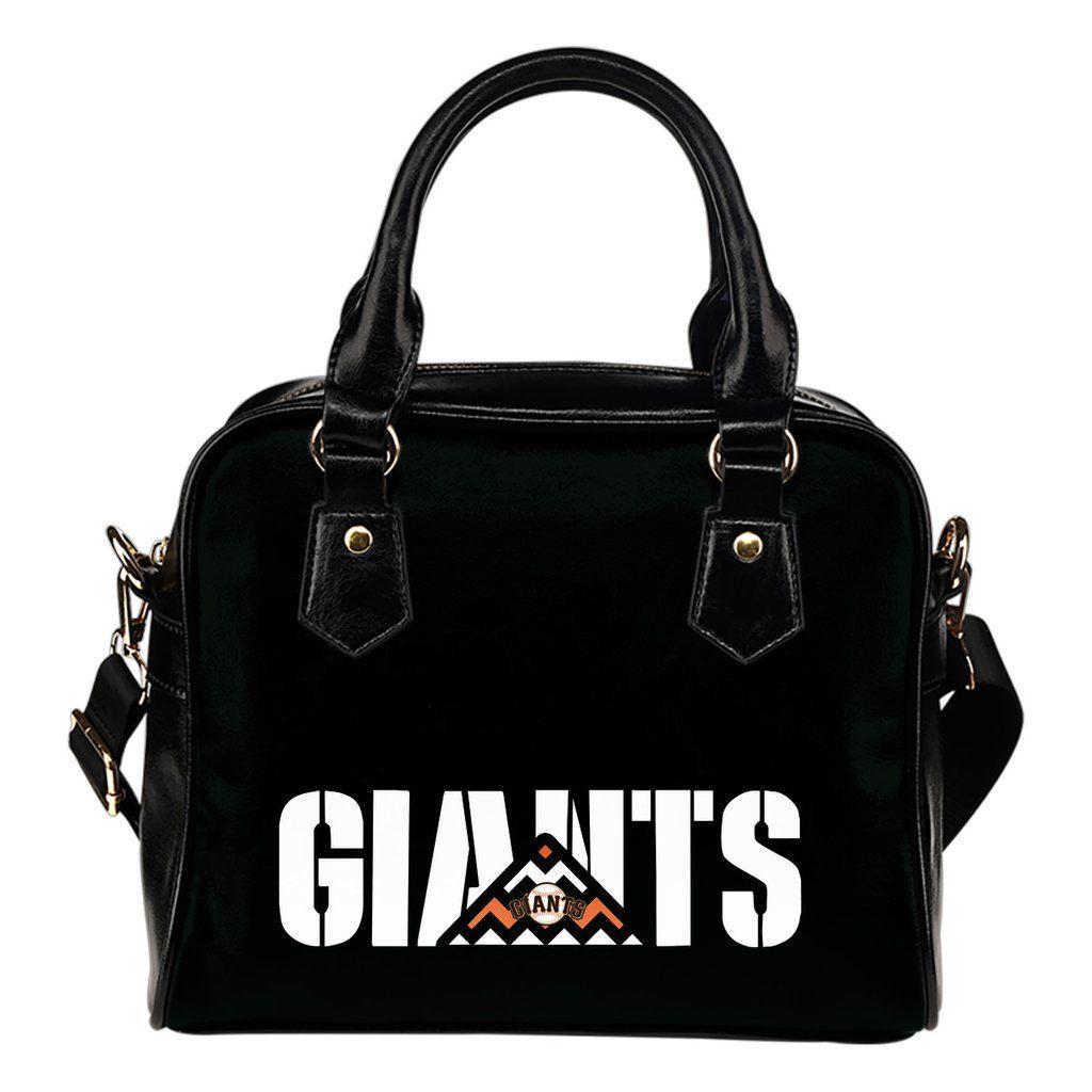 San Francisco Giants Mass Triangle Shoulder Handbags