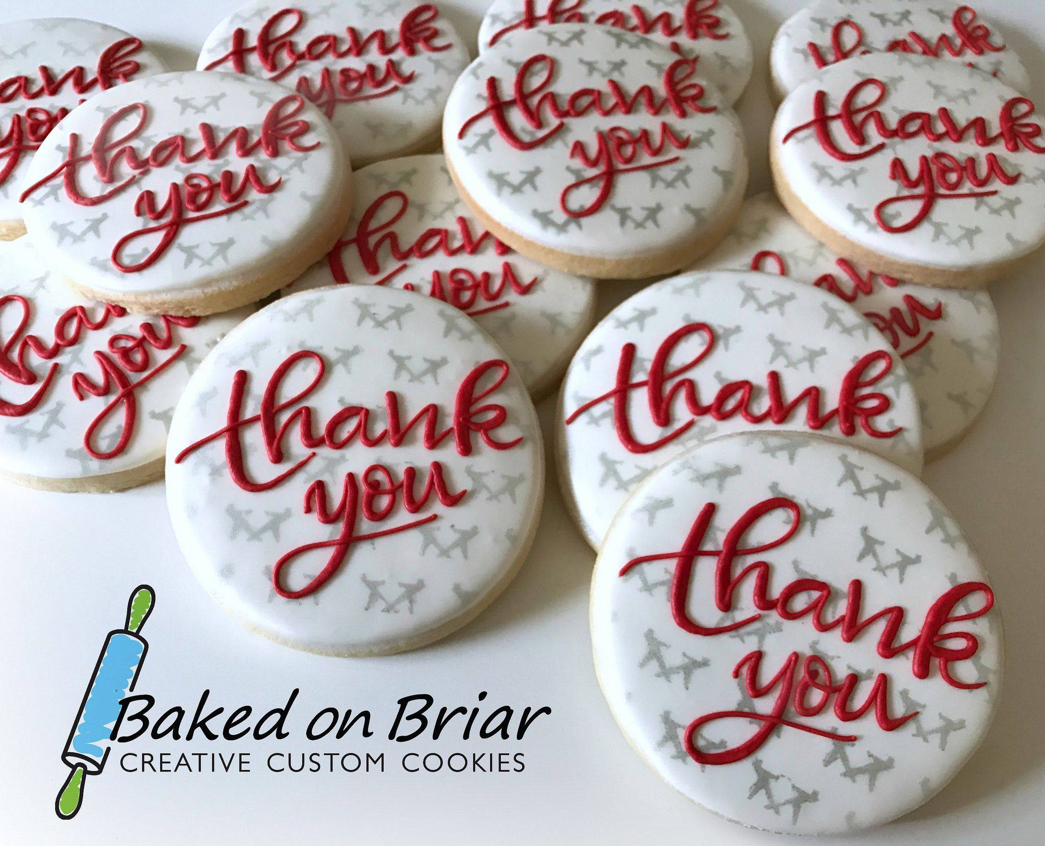 Corporate Thank You Cookies