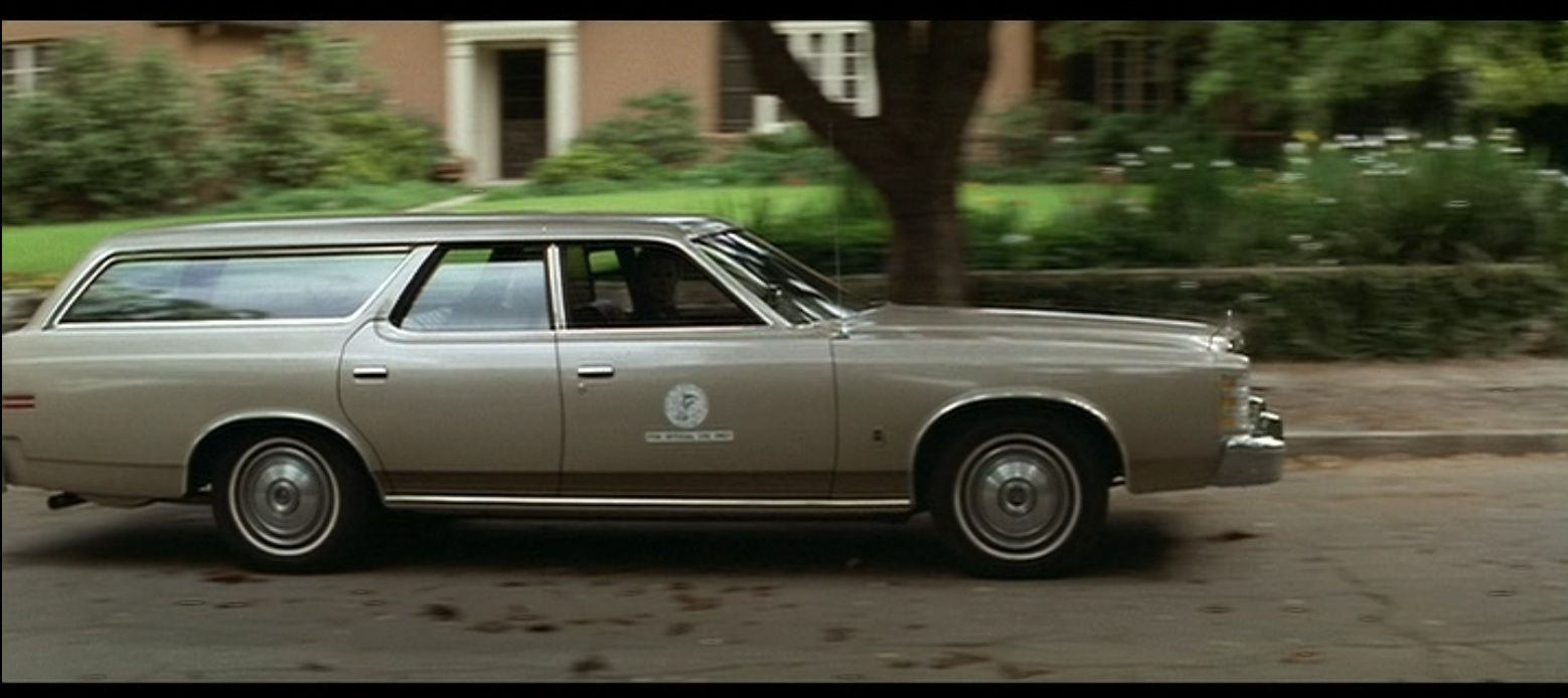 Michael Myers in the stolen '78 LTD wagon.