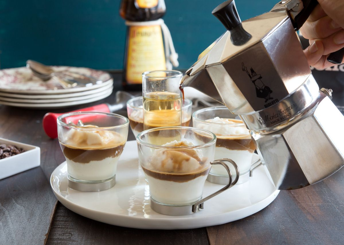 Boozy Affogato Coffee treats, Boozy, Yummy alcoholic drinks