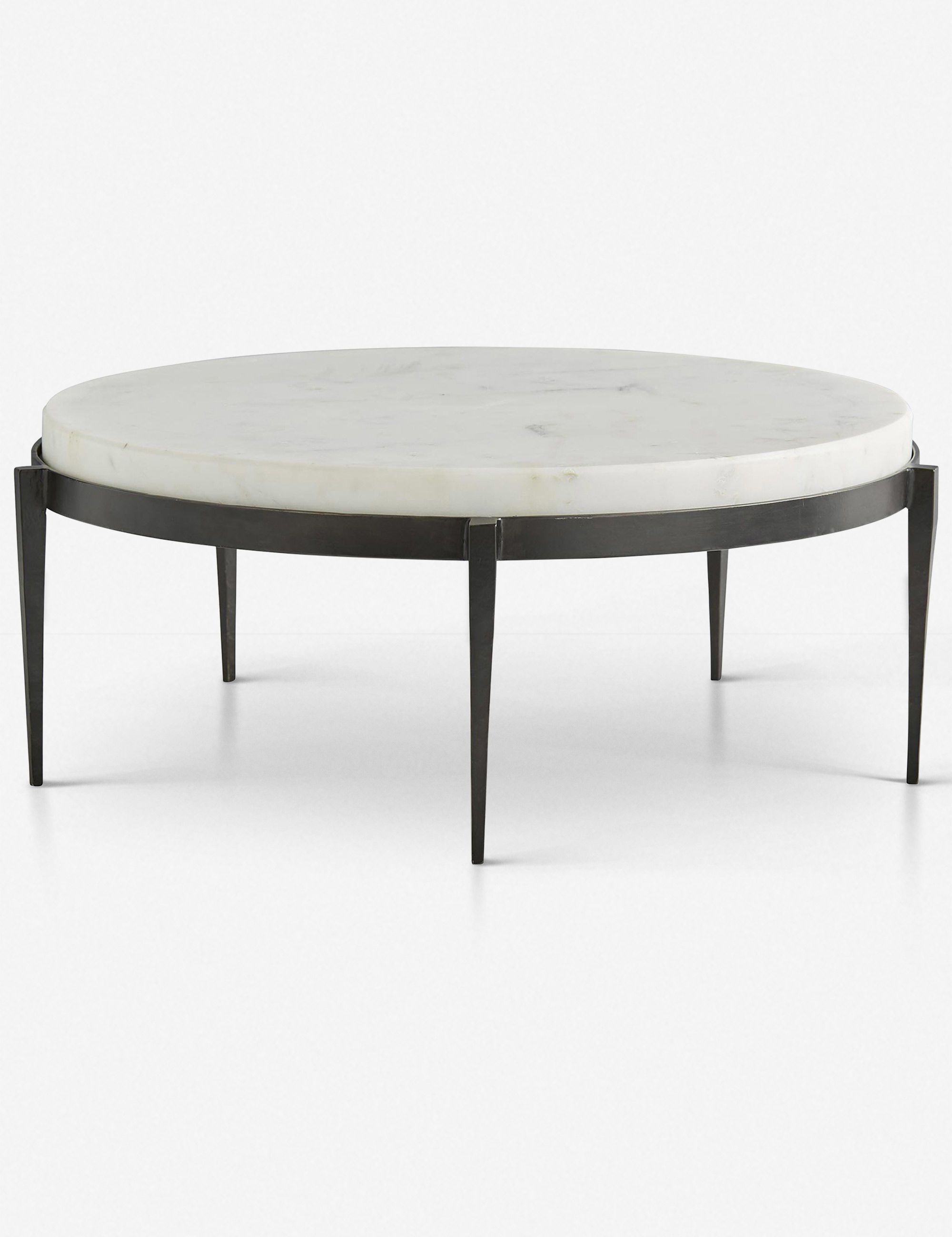 Arteriors Kelsie Round Coffee Table Coffee Table Round Coffee Table Marble Top Coffee Table [ 2600 x 2000 Pixel ]
