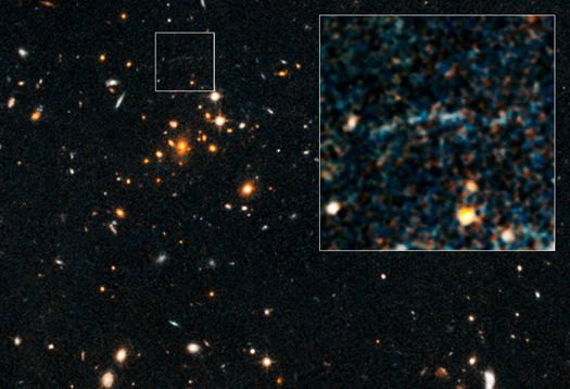 A galaxy cluster 10 billion light-years from Earth is the most massive one ever seen at such a distance.