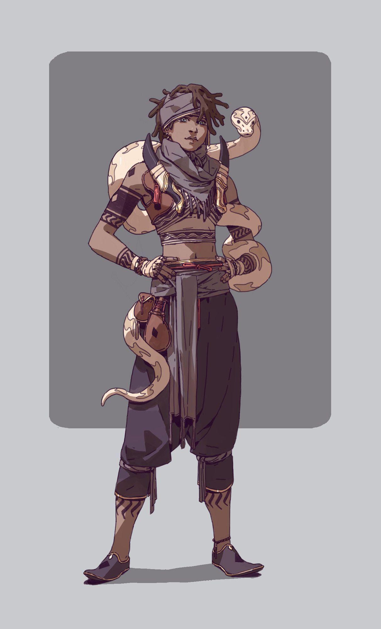 Photo of Fantasy characters WIP, Adam Lee