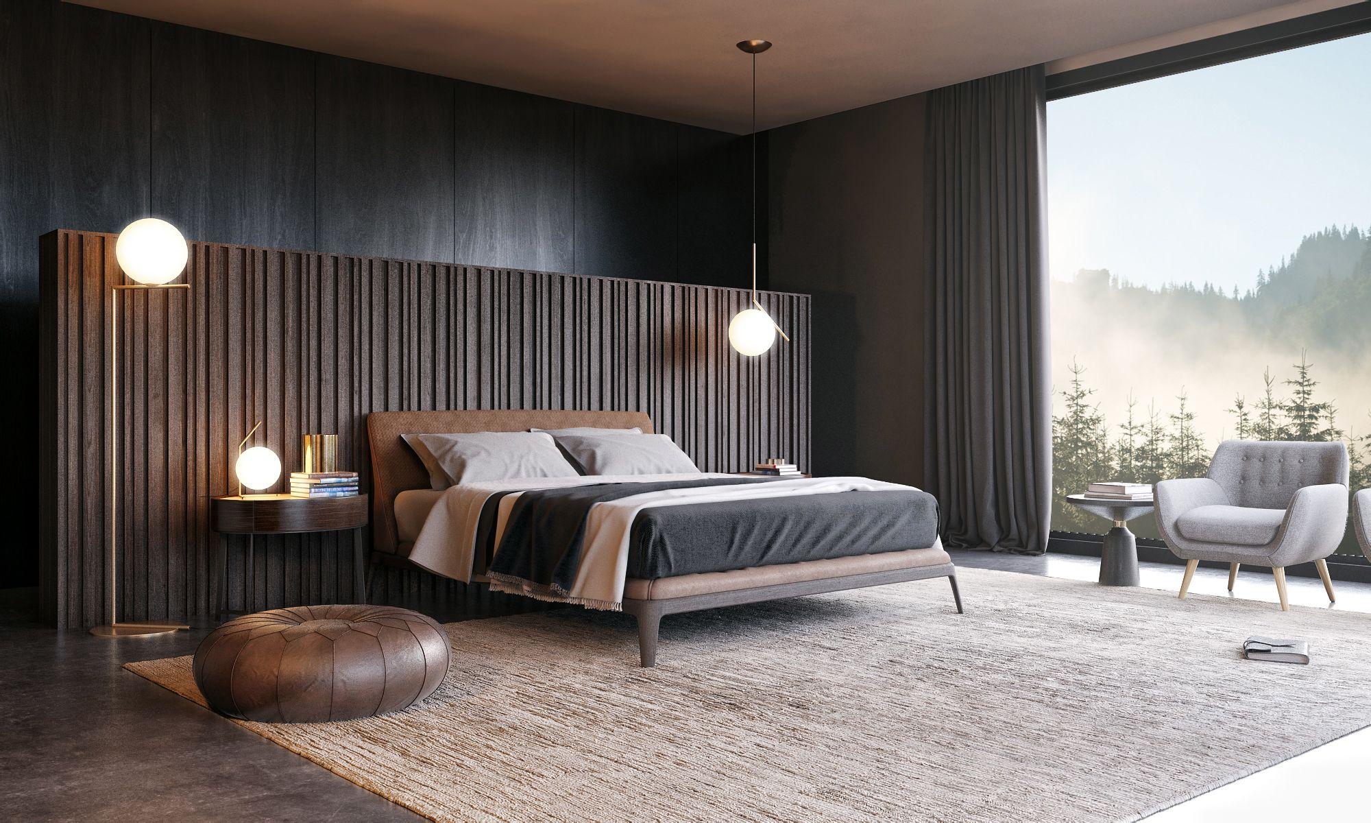 Bed Room Poliform On Behance - Interiors Bedroom - Pinterest