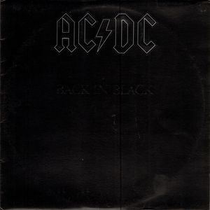 Ac Dc Back In Black Vinyl Lp Album At Discogs With Images