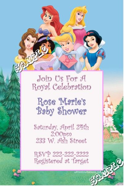 Princess baby shower invitations digital download get these princess baby shower invitations digital download get these invitations right now design yourself solutioingenieria Image collections