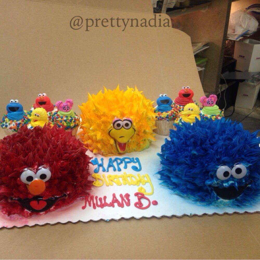 Elmo cake baltimore md for #MulanB party